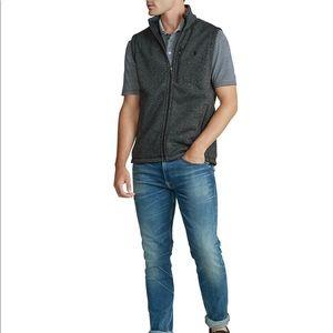 Polo Ralph Lauren fleece mock neck vest